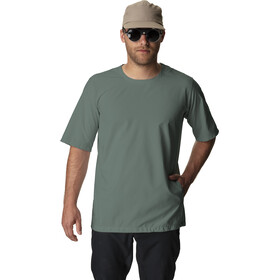 Houdini Wheatered T-shirt, storm green